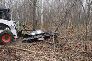 BRUSH MOWER / ROUGH CUT MOWER 72 in  Skid Steer Mount