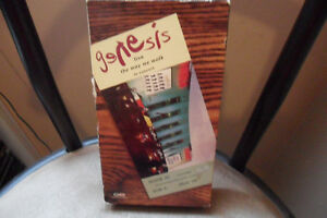 GENESIS THE WAY WE WALK VHS