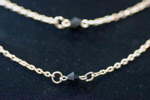 NEW Black Gem Necklace