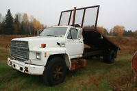 1987 F600 Flatbed for sale