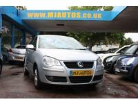 2006 56 VOLKSWAGEN POLO 1.4 S 5DR AUTOMATIC