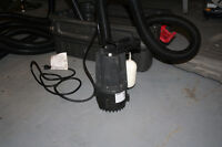 Submersible Sump Pump - Rarely Used
