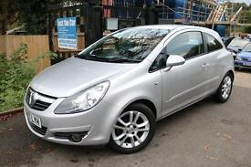 Vauxhall Corsa 1.4 SXI A/C 3 Door Silver Long MOT Low Mileage Finance Available