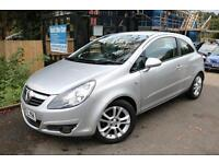 Vauxhall Corsa 1.4 SXI A/C 3 Door Silver Long MOT Low Mileage Finance Available