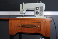 Sears Kenmore Sewing Machine & Table