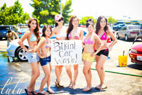 Car wash bikini girls needed