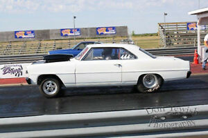 1966 Nova 2 door ht Drag car
