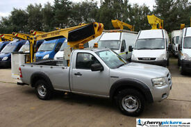2008/58 Ford Ranger 4x4 4wd Cherry Picker Access Platform MEWP - 12 Metre