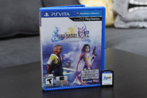 Final Fantasy X HD Remaster for the Sony Playstation PS Vita
