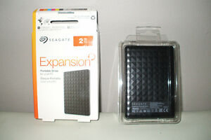 Seagate  Portable Drive  2 TB...Brand new...  Never used Cambridge Kitchener Area image 1