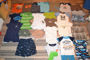Boys 12 months clothing lot - Carters Osh Kosh