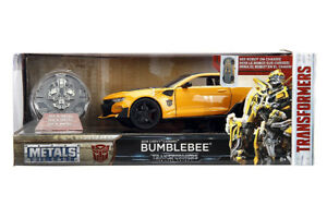 Jada Transformers The Last Knight Bumblebee 1:24 Diecast W/Coin