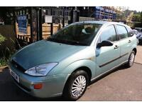 Ford Focus 1.6 LX Green Auto 5 Door Long MOT Low Mileage Car