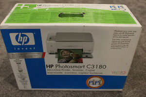 HP Photosmart C3180 All-In-One Inkjet Printer new
