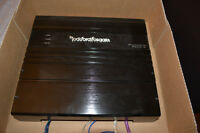 Rockford Fosgate Amplifier, Subwoofers X2 Brand New Condition