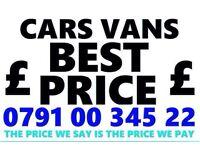 079100345 22 SELL MY CAR VAN MOTORCYCLES FOR CASH BUY YOUR SCRAP FAST C