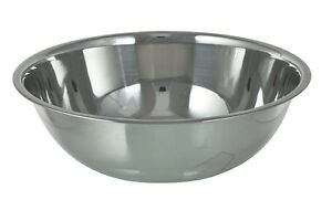 """Big Stainless steel mixing bowl 15"""" (38 cm) in diameter West Island Greater Montréal image 4"""