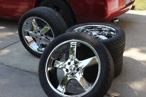 dodge charger rims and tires