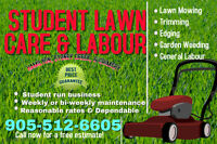 Student Lawn Care!!!!