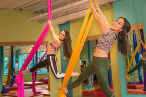 Aerial Silks Classes in Halifax!