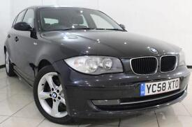 2009 58 BMW 1 SERIES 2.0 118D EDITION ES 5DR 141 BHP DIESEL
