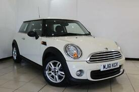 2012 61 MINI HATCH ONE 1.6 ONE 3DR 98 BHP