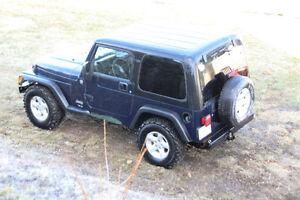 """2005 Jeep TJ    """"Weekend Warrior"""""""