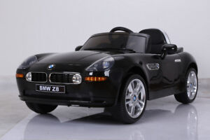 Licensed 12V BMW Z8 Child Ride-On Car with Doors, Remote, more