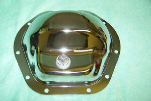 TRANS DAPT CHEV FORD DODGE JEEP CHROME DIFFERNTIAL COVER