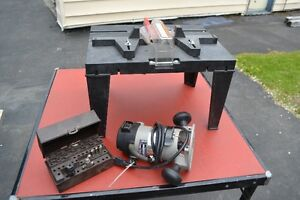 Router, Table and Bits