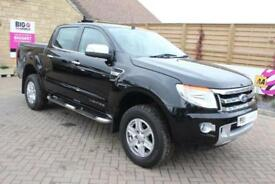 2015 FORD RANGER LIMITED 4X4 TDCI 150 DOUBLE CAB WITH ROLL'N'LOCK TOP PICK UP DI