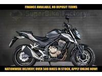 2016 16 HONDA CB500 FA-F 500CC 0% DEPOSIT FINANCE AVAILABLE