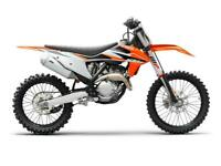 KTM SX-F 250 2021 MODEL MOTORCROSS BIKE NOW AVAILABLE TO ORDER AT CRAIGS MC