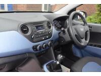 2014 Hyundai i10 1.2 SE Petrol white Manual