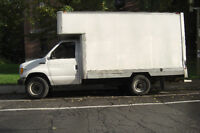 2001 Ford CTV 14' cube van, no inspection required