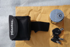 Master Motorcycle Disc Lock Kit