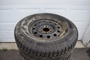 Ford F150 265/70/17 Nokian Snows On Rims 90% Tread STUDDED