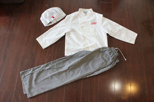 Carlos Bakery Chef Children's Outfit - Size YXL