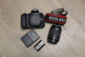 selling EOS canon 60D with ef-s 18-55mm f3.5-5.6
