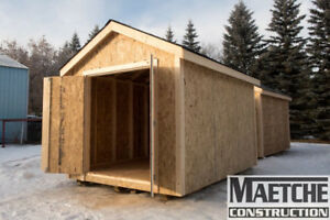 Wood Built 8ft x 12ft Sheds ( READY TO GO!)