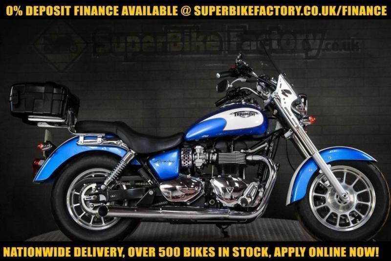 2012 62 Triumph America Bonneville 865cc 0 Deposit