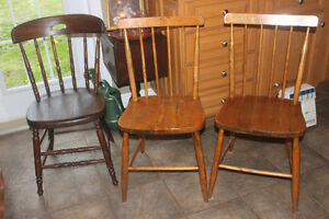 Sturdy Hardwood Chairs ( good condition)