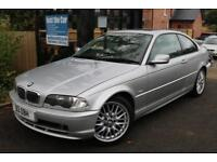 2000 BMW 3 SERIES 318CI 1.9 Silver Coupe 3 Door Long MOT Leather Seats
