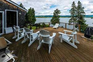 Incredible Ottawa River Waterfront Home on the Dunrobin Shores