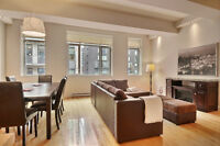 Downtown condo 1048 sf with indoor parking