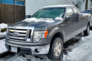2009 Ford F-150 XLT Truck, Supercab 8ft Box, 4WD