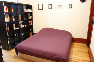 chambre double, Villeray 550$ libre le 10 septembre