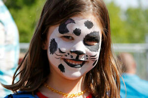 Face painting for all events, parties, and birthdays!