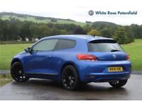 2014 Volkswagen Scirocco GT 2.0 TDI BMT 140PS 6-speed Manual 3 Door Diesel blue