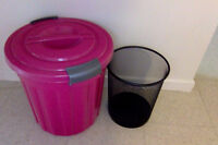2 Garbage Cans (Will Sell Separately)